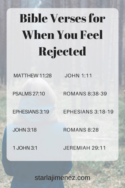Bible verses for when you feel rejected. Comforting Bible Verses for Christian Women
