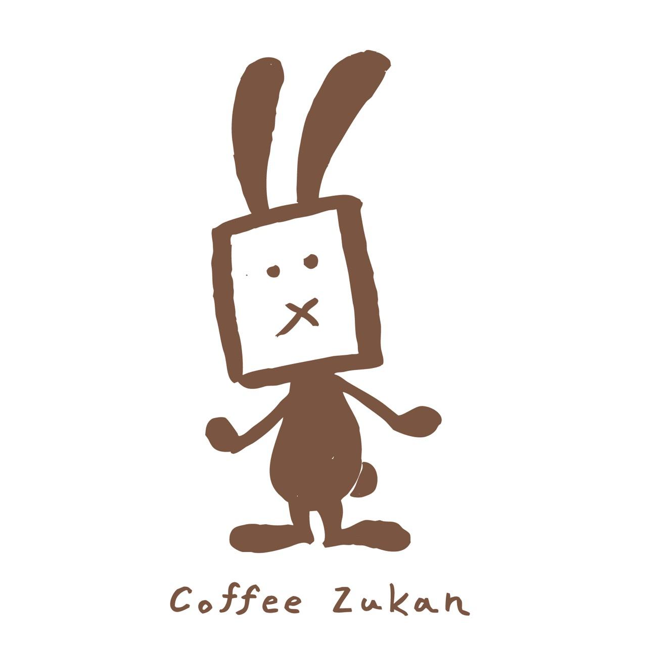 Coffee Zukanのマスコット、クレマ君(仮)