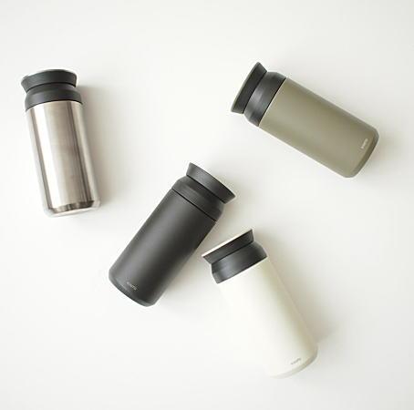 ボトル本体は二重構造により保温性や保冷効果に優れた効果を発揮!