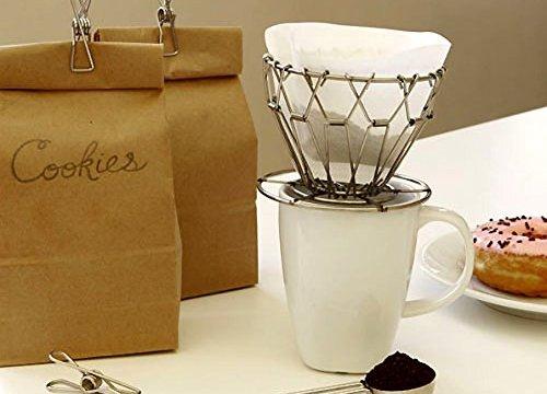 ポアーオーバーコーヒーキット キッカーランド Pour Over Coffee Kit kikkerland