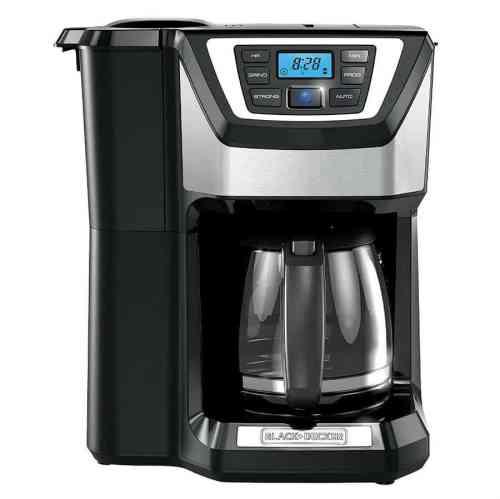 BLACK+DECKER CM5000B 12-Cup Mill and Brew Coffeemaker