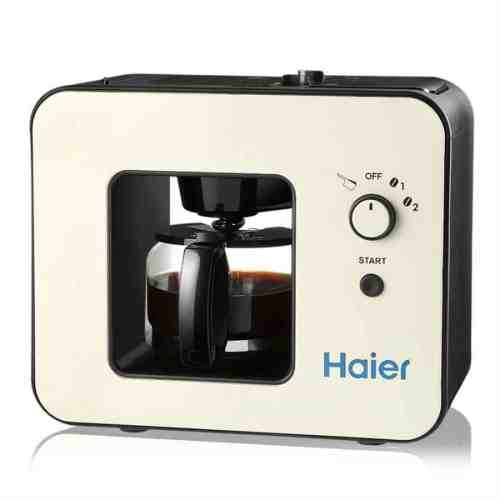 Haier Brew Automatic Coffee Makers 4 Cup with Grinder Machines built in coffee grinder