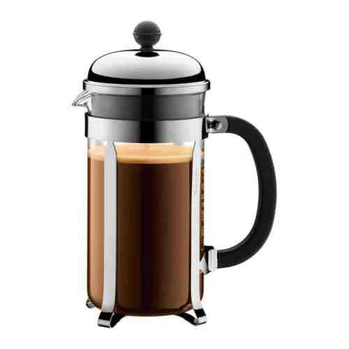 stainless steel french press coffee brewing