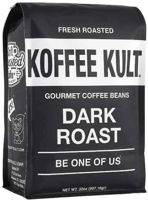 Koffee Kult Dark Roast Coffee Beans best coffee beans for espresso a review