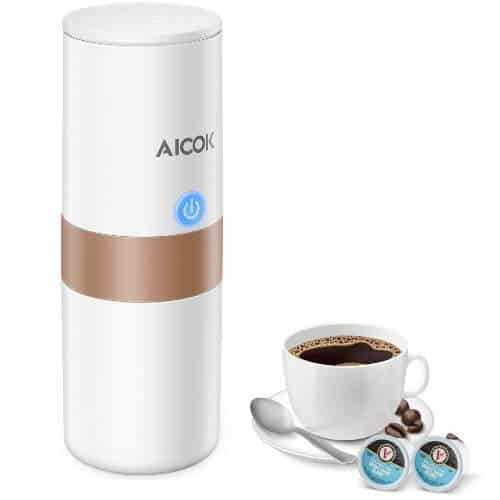 Aicok Portable Coffee and Espresso Maker