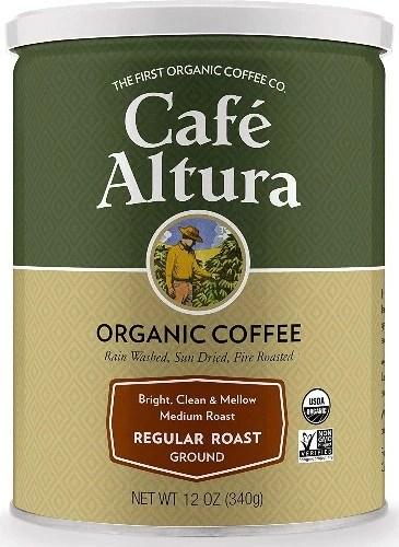 Cafe Altura Ground Organic Coffee