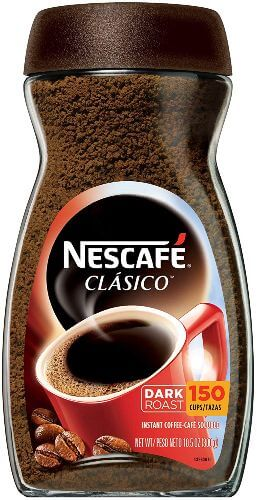 Nescafe Clasico, Dark Roast Instant Coffee (1)