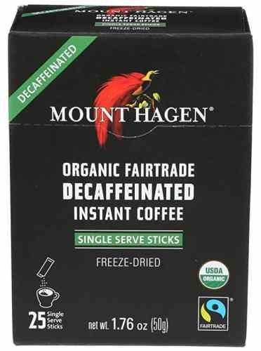 Mount Hagen Organic Instant Decaf Coffee