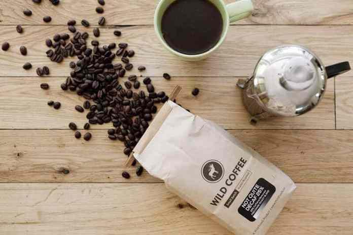 caffeine in decaf coffee