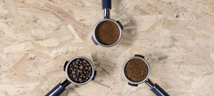 moka pot coffee grounds