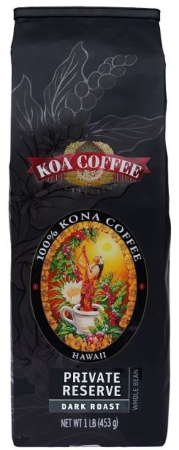 Whole Bean 100% Kona Coffee