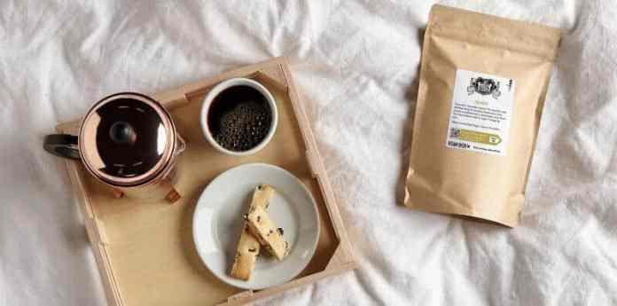 keala 100% kona coffee bean box