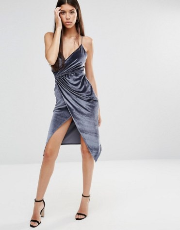 http://www.asos.com/boohoo/boohoo-velvet-strappy-wrap-dress/prd/7199234?iid=7199234&clr=Grey&SearchQuery=velvet%20dress&pgesize=36&pge=3&totalstyles=177&gridsize=3&gridrow=2&gridcolumn=1