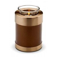 Candle Holder Keepsake (Brown)