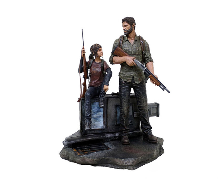 Figurine Collector - The Last Of Us - Joel & Ellie