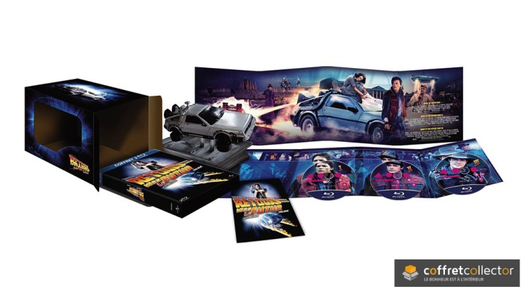 Retour vers le Futur - Edition collector Dolorean