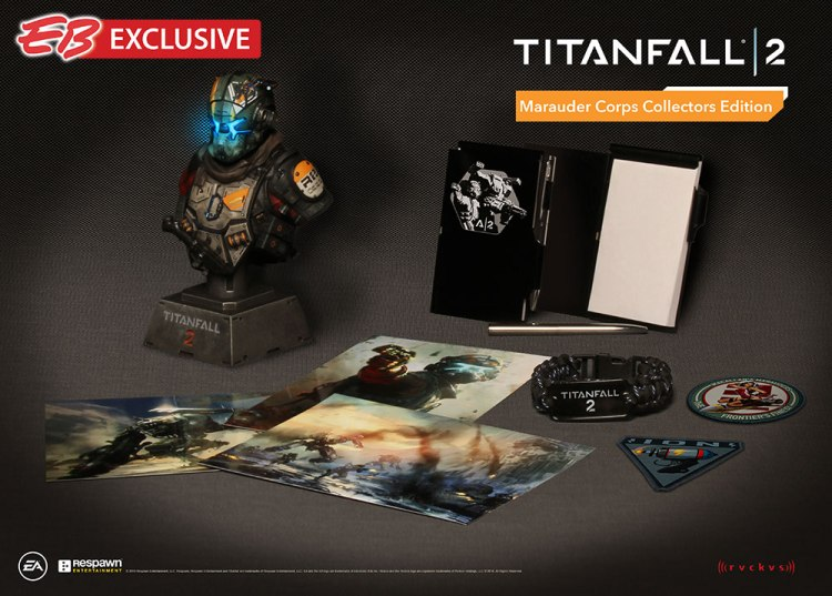 Titanfall 2 - édition collector Marauder Corps