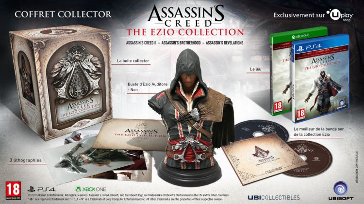Une version collector pour Assassin's Creed : The Ezio Collection
