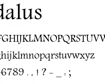 andalus-font