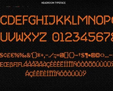 Guardians Of The Galaxy Font
