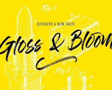 Gloss and Bloom Font 370x297