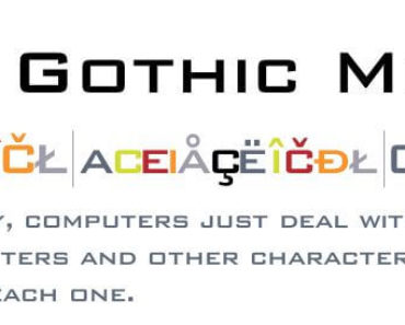 bank gothic font 370x297