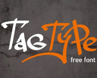 tag type font 370x297