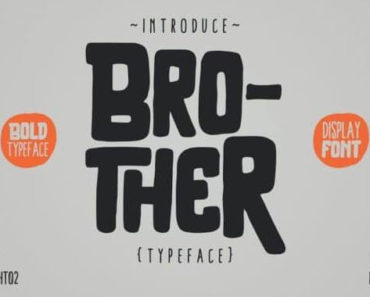 brother font 370x297
