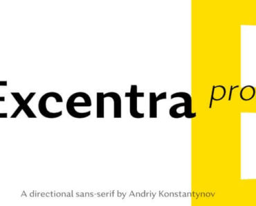 excentra font 370x297