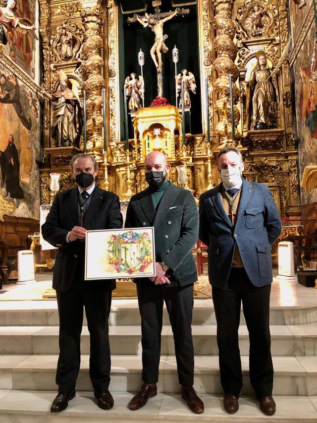 Presentación portada Anuario 2021 de la Hermandad de la VeraCruz de Sevilla