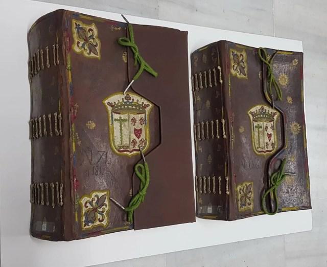 Enseres de la Vera Cruz que estarán en la exposición «In nomine Dei»  de Sevilla
