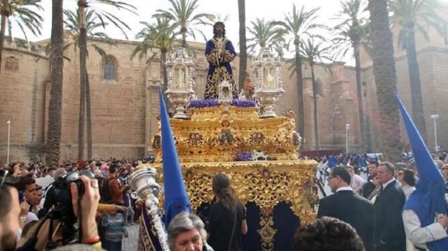 2020 en Almería, el año en el que la covid-19 impidió las salidas procesionales