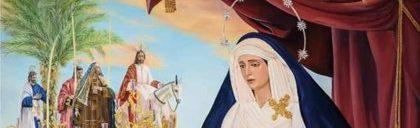 La Borriquita ilustra el cartel de la Semana Santa de Alcalá de Guadaíra (Sevilla) 2021