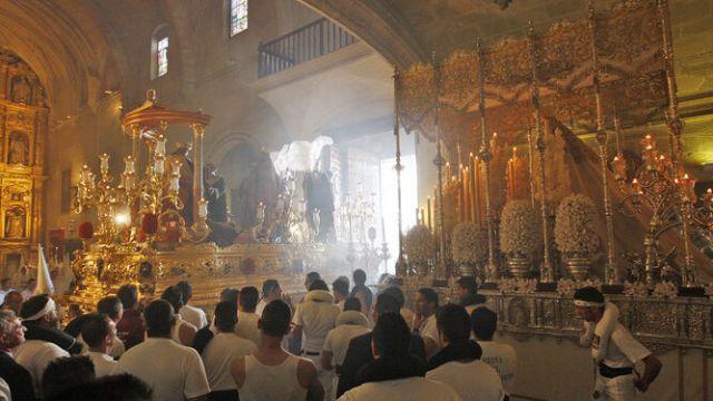 El Transporte de Jerez hará un Domingo de Ramos de puertas abiertas en la basílica