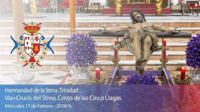 Hoy Vía Crucis con la imagen del Santísimo Cristo de las Cinco Llagas de Sevilla