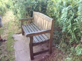 Preserving benches around Cofton Lake