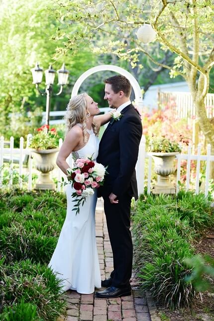 Garden ceremony jackson tn