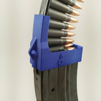 Ruger Mini-30 Magazine loader with 7.62x39 Tulammo