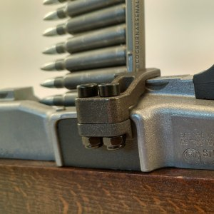 Mini-14 side mounted stripper clip guide