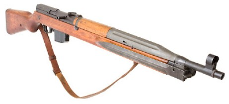 Czech VZ-52 cold war era semi auto rifle in 7.62x45mm
