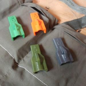 3D printed Mini-14 Stripper clip spoons