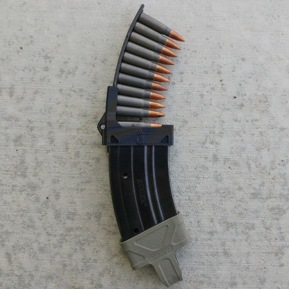 Mini-30 mag loader black