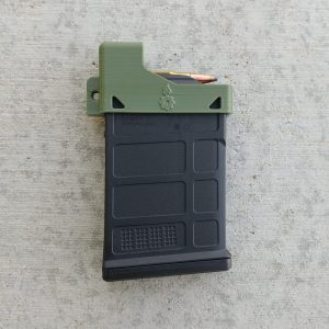 OD green Magpul AICS mag loader