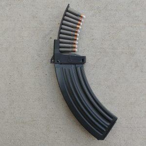BXN stripper clip loading VZ58 rifle magazines