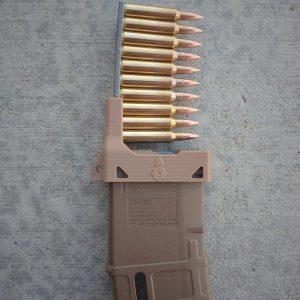 FDE Khaki Medium Coyote tan Stripper clip magazine loader