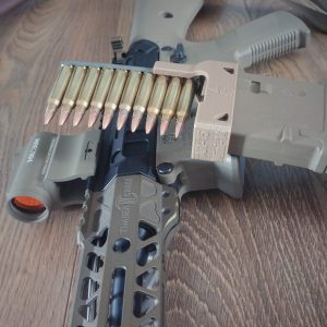 AR-15 Mag loader, FDE, PMAG, KP-15, Holosun
