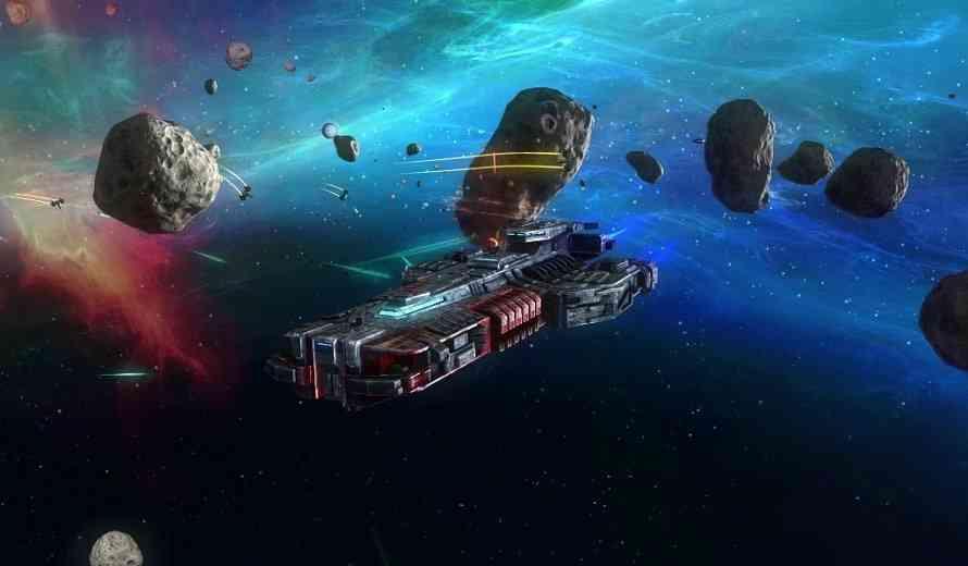 Rebel Galaxy Review Introducing Capitol Ship Broadside