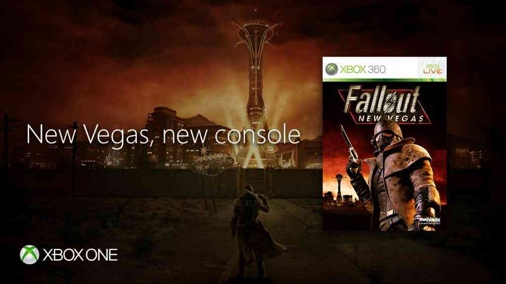 Fallout New Vegas And 7 More Games Now Available On Xbox One