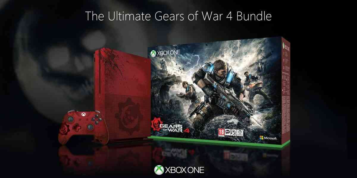 2TB Gears Of War 4 Xbox One S Limited Edition Bundle