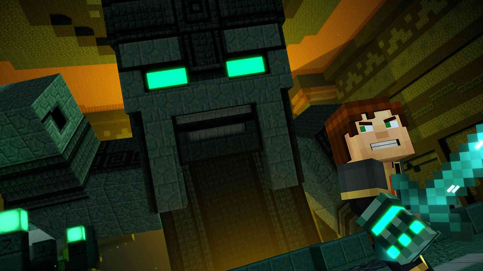 Minecraft Animation Wallpaper Minecraft Story Mode Season 2 Ep 2 Quot Giant Consequences